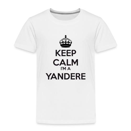 Yandere keep calm - Kids' Premium T-Shirt