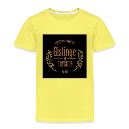 Sort logo 2017 - Børne premium T-shirt
