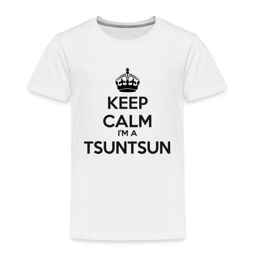 Tsuntsun keep calm - Kids' Premium T-Shirt