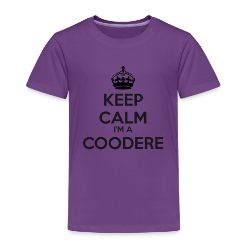 Coodere keep calm - Kids' Premium T-Shirt