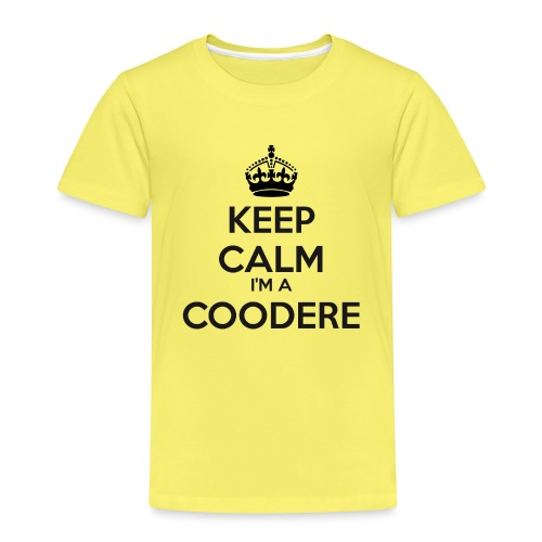 Coodere keep calm - Kids' Premium T-Shirt