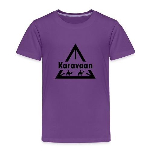 Karavaan Black (High Res) - Kinderen Premium T-shirt