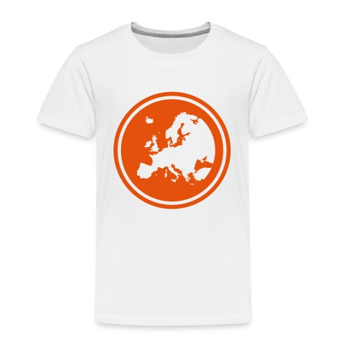 EGEA logo circle - Kids' Premium T-Shirt