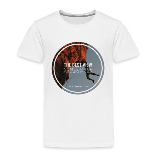 best view - Kinder Premium T-Shirt