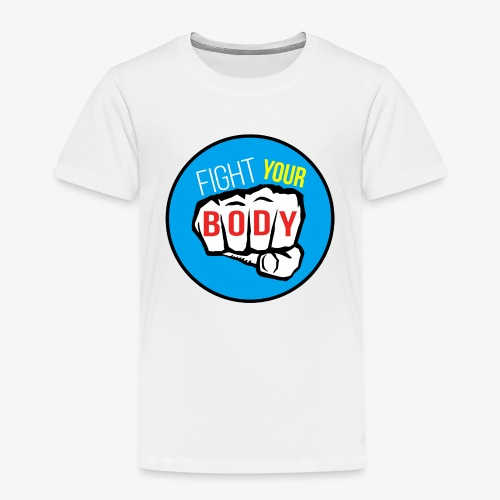 logo fyb bleu ciel - T-shirt Premium Enfant