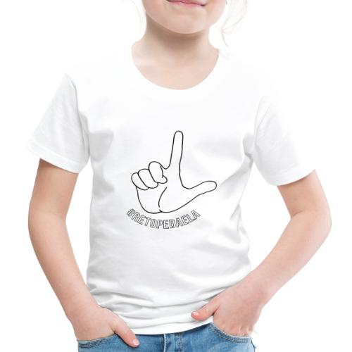 Dedo Big - #RetoPedaEla - Camiseta premium niño
