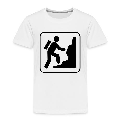 Bergwandern_logo - Kinder Premium T-Shirt