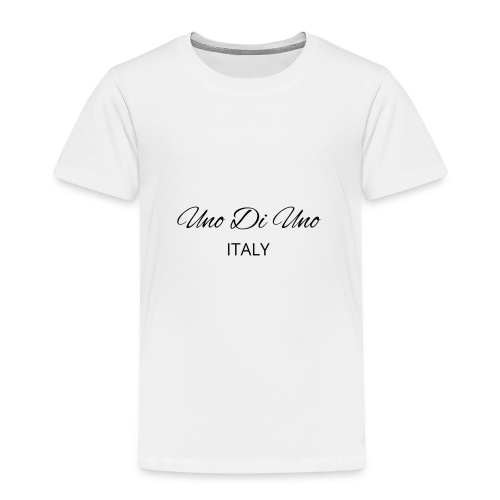 Uno Di Uno simple cotton t-shirt - Kids' Premium T-Shirt