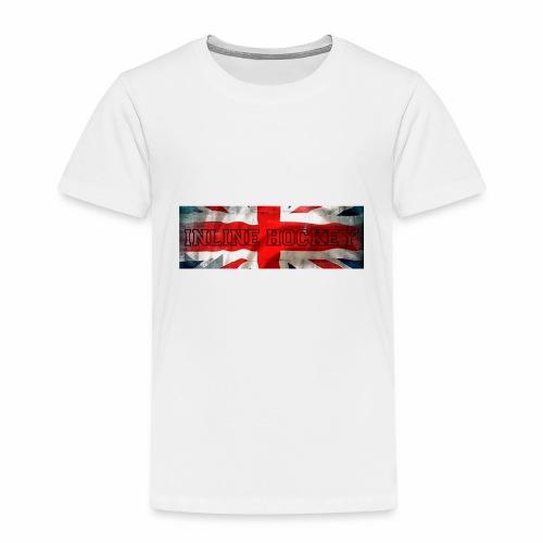 Inline Hockey Great Britain - T-shirt Premium Enfant