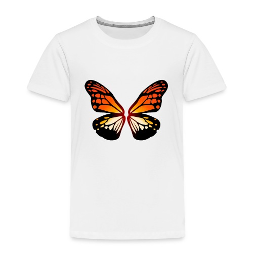 Butterfly wings On Fire - Premium T-skjorte for barn