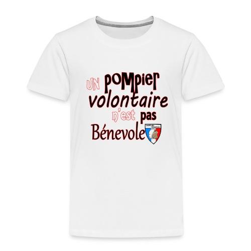 pompier volotaire - T-shirt Premium Enfant