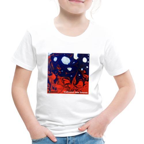 TIAN GREEN Mosaik DE026 - Vollmond über Rwanda - Kinder Premium T-Shirt