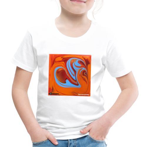 TIAN GREEN Mosaik DK005 - Herzenswelten - Kinder Premium T-Shirt