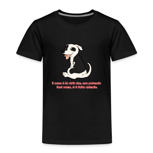 Aforisma cinofilo - Maglietta Premium per bambini
