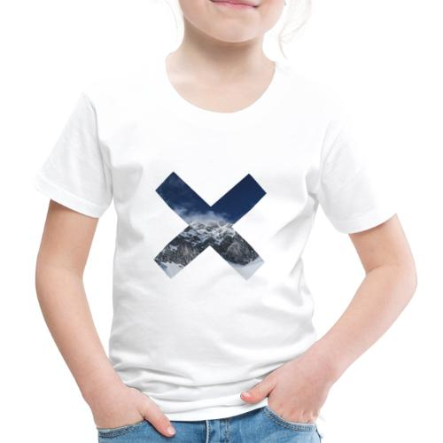 PV tshirt X snow mountain png - Kinder Premium T-Shirt