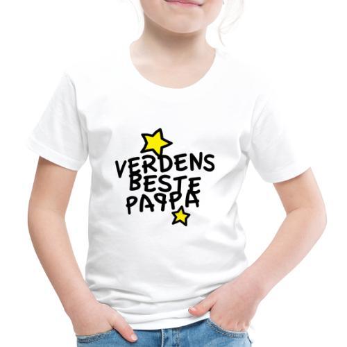 Verdens beste pappa - Premium T-skjorte for barn