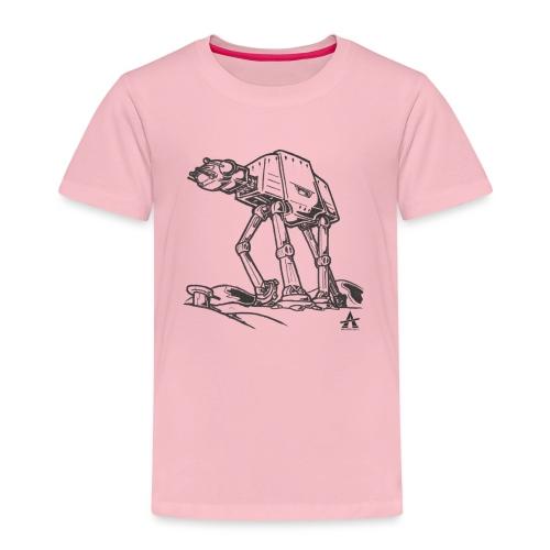 AT AT Walker ligne d'esquisse - T-shirt Premium Enfant