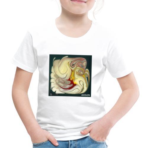 TIAN GREEN Mosaik DE114 - Axolotl - Kinder Premium T-Shirt