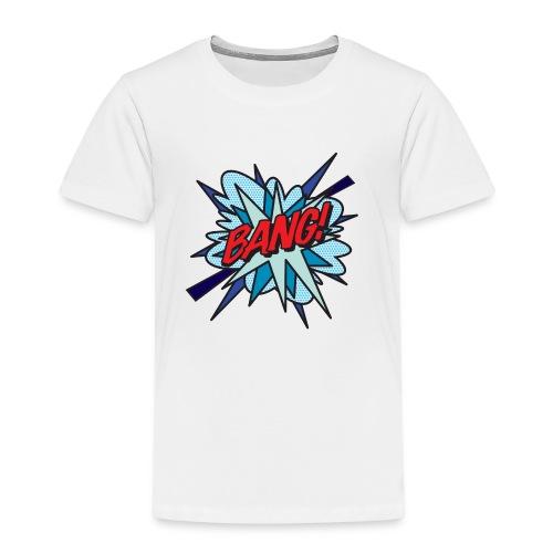 Comic Book Pop Art BANG! - Kids' Premium T-Shirt