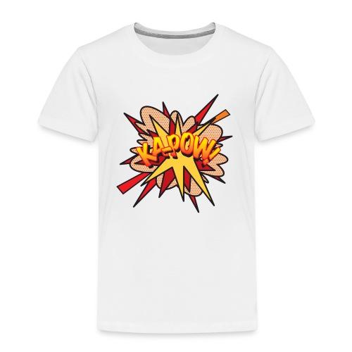 Comic Book Pop Art KA-POW - Kids' Premium T-Shirt