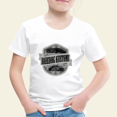 rd kustoms gray - Børne premium T-shirt