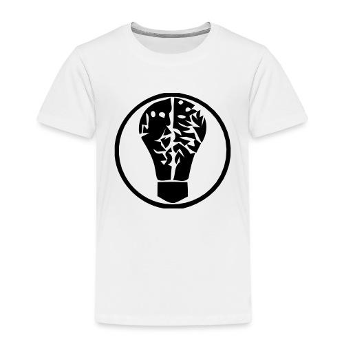 birneorgalogominischwarz - Kinder Premium T-Shirt