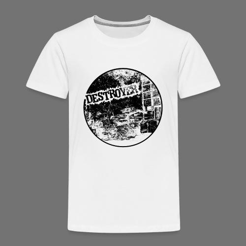 Destroyer musta - Lasten premium t-paita