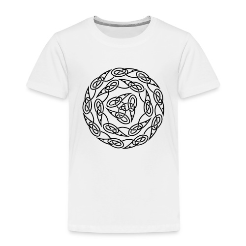 Triquetra circles - Kids' Premium T-Shirt