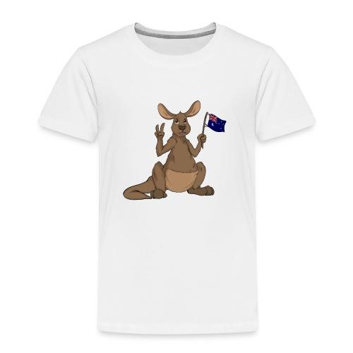 Kängeru png - Kinder Premium T-Shirt