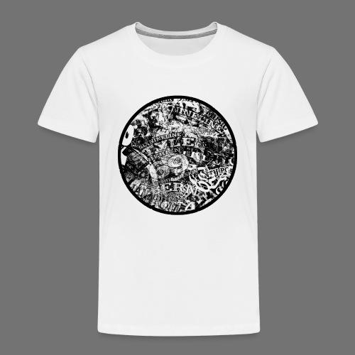 Urban Style musta 1C - Lasten premium t-paita