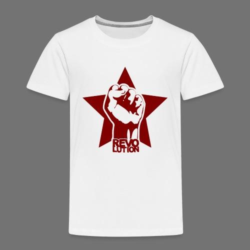 Vallankumous - Lasten premium t-paita