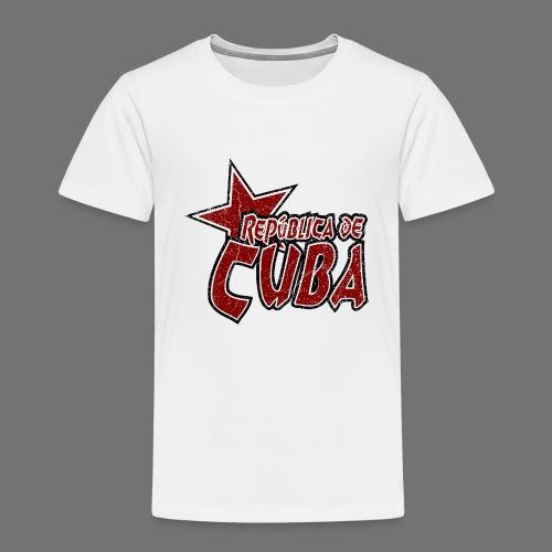 Republica de Cuba mit Stern (oldstyle) - Kinder Premium T-Shirt