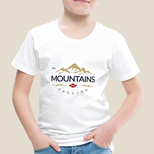 Outdoor mountain - T-shirt Premium Enfant