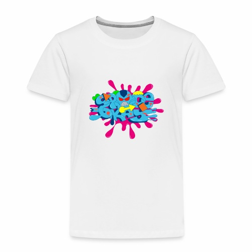 SpaceOkayR - Kinder Premium T-Shirt