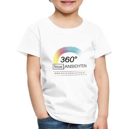 Logo NeueAnsichten - Kinder Premium T-Shirt