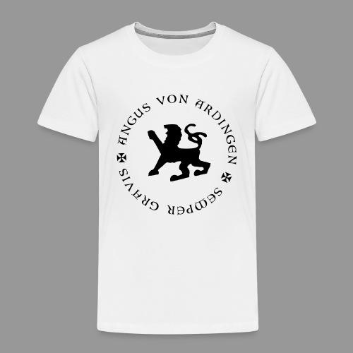angus von ardingen semper gravis - Kinder Premium T-Shirt