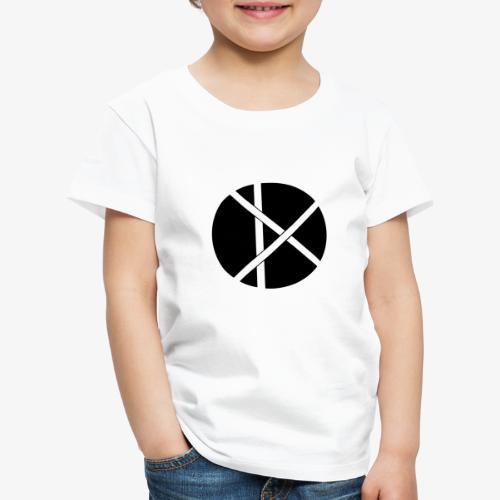 Don Logo - musta - Lasten premium t-paita