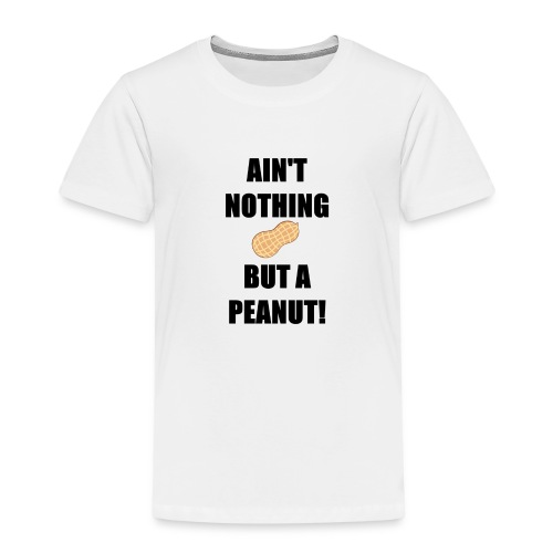 peanut black - Premium-T-shirt barn