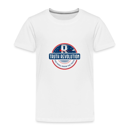 Truth Revolution Official Logo T-Shirt - Kids' Premium T-Shirt