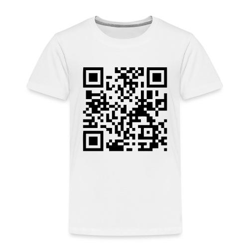 QR Code Geek - T-shirt Premium Enfant