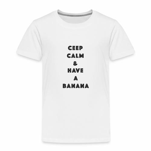 Ceep calm - Premium T-skjorte for barn