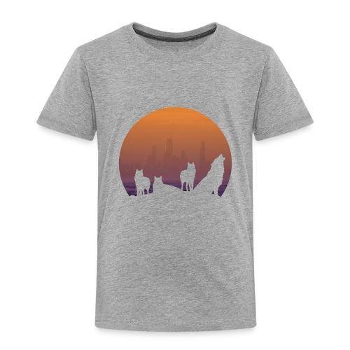Wolfsrudel - Kinder Premium T-Shirt