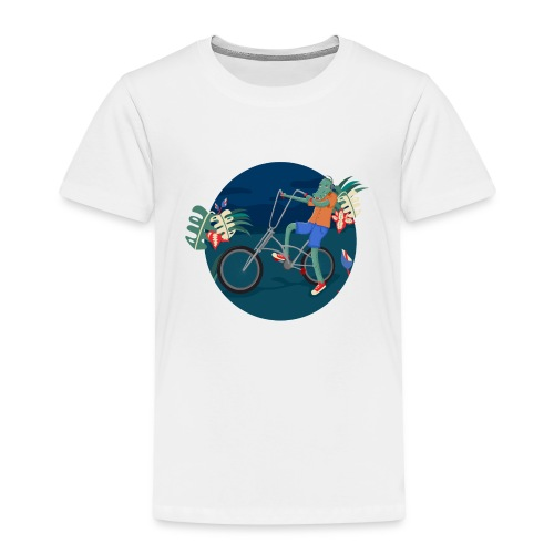Bike Crocodile - Camiseta premium niño