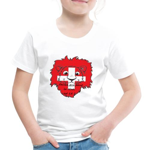 Lion supporter Suisse - T-shirt Premium Enfant