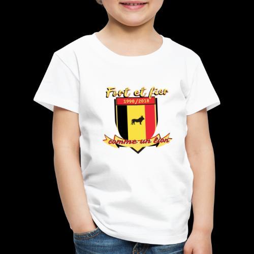 belgique foot coupe du monde - T-shirt Premium Enfant