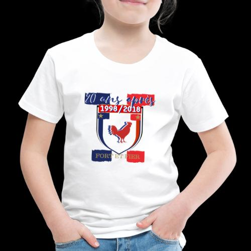 france FRANCE foot coupe du monde football - T-shirt Premium Enfant