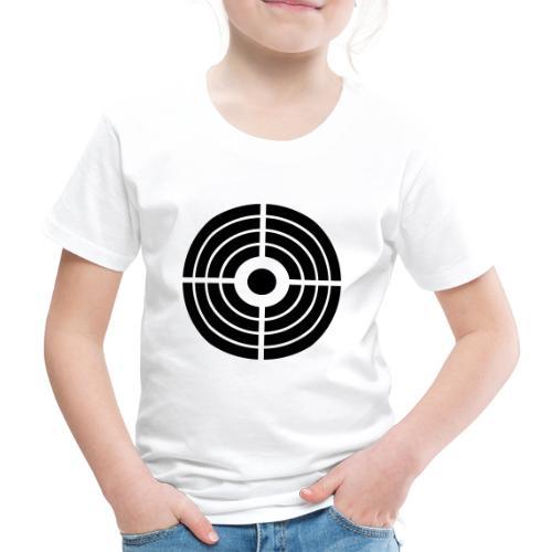 Zielscheibe - Schütze - Kinder Premium T-Shirt