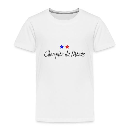 Champion du Monde 2018 - T-shirt Premium Enfant