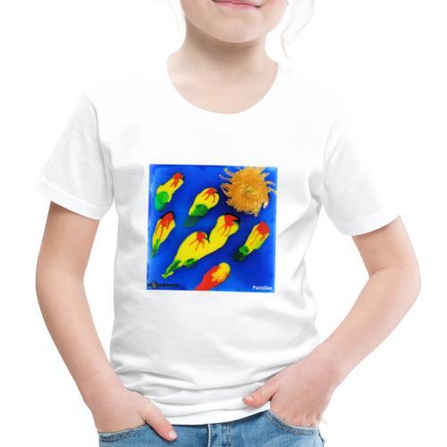 TIAN GREEN Mosaik DK035 - Paradise - Kinder Premium T-Shirt