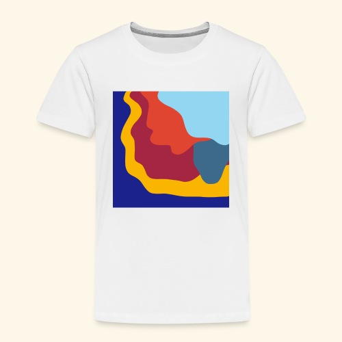 Illusion d'optique colorée - T-shirt Premium Enfant